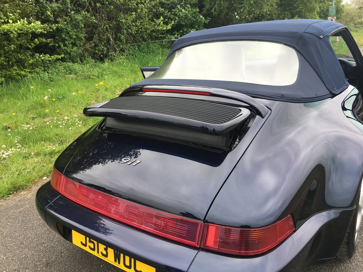 1992 Porsche 911 (964) Carrera 2 Cabriolet  For Sale (picture 4 of 6)