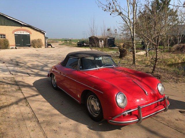 1959 Porsche 356 conv D, perfect For Sale (picture 1 of 6)