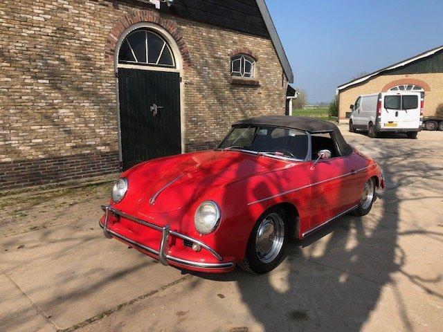 1959 Porsche 356 conv D, perfect For Sale (picture 2 of 6)
