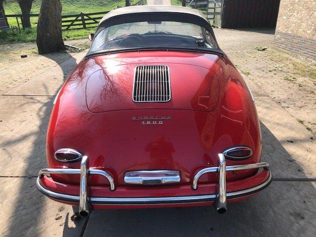1959 Porsche 356 conv D, perfect For Sale (picture 5 of 6)