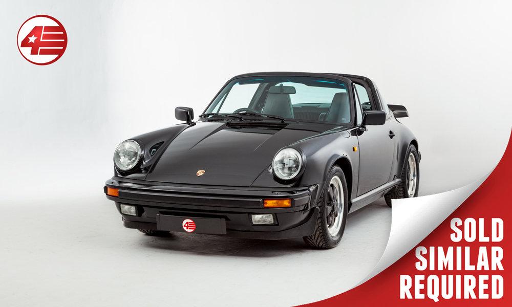 1989 Porsche 911 3.2 Carrera Targa Sport /// Excellent History SOLD (picture 1 of 2)