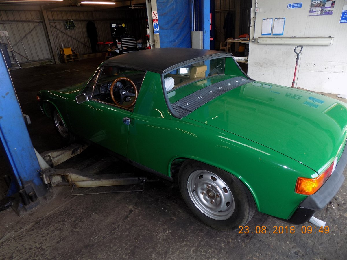 1973 Immaculate green 914 unrestored. For Sale (picture 6 of 6)
