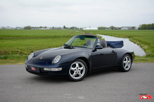 1994 Porsche 911 993 Carrera Cabriolet very nice low mileage For Sale