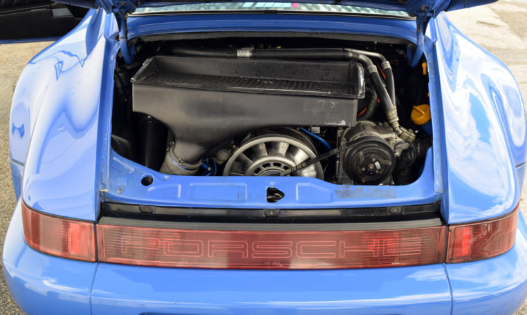 1991 Porsche 911 964 Turbo Maritime Blue Rare Euro $165k For Sale (picture 3 of 6)