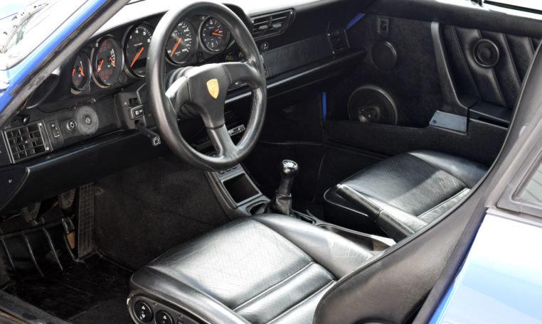 1991 Porsche 911 964 Turbo Maritime Blue Rare Euro $165k For Sale (picture 5 of 6)
