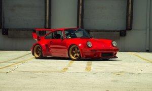 1990 Porsche 911 Carrera 2 964 Coupe Sunburst WideBody 3.6L For Sale