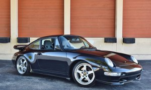 1995 Porsche 911 993 RUF BTR 3.6L Turbo = Fast Black $149.5k For Sale