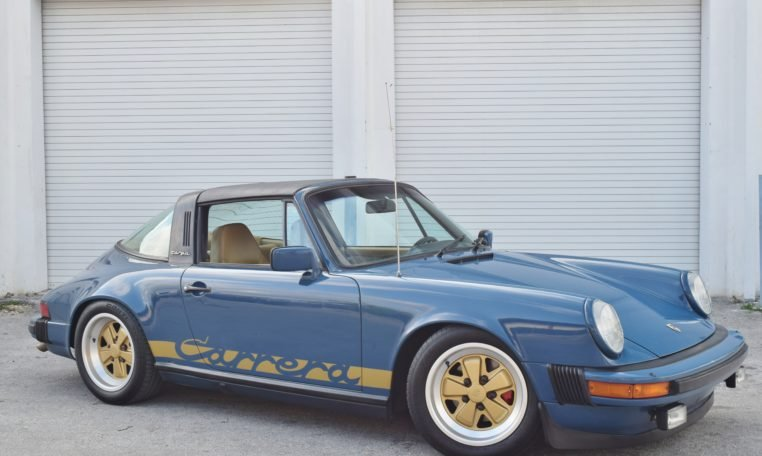 1982 Porsche 911 SC Targa = Rare 1 of 1 Mercedes Marine Blue For Sale (picture 1 of 6)