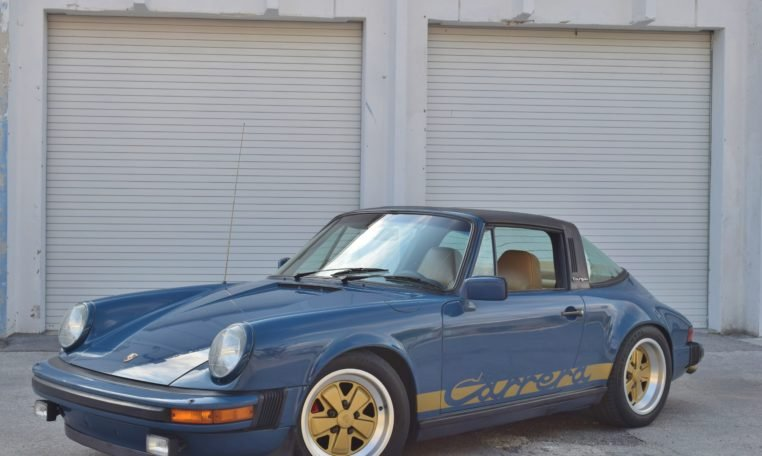 1982 Porsche 911 SC Targa = Rare 1 of 1 Mercedes Marine Blue For Sale (picture 2 of 6)