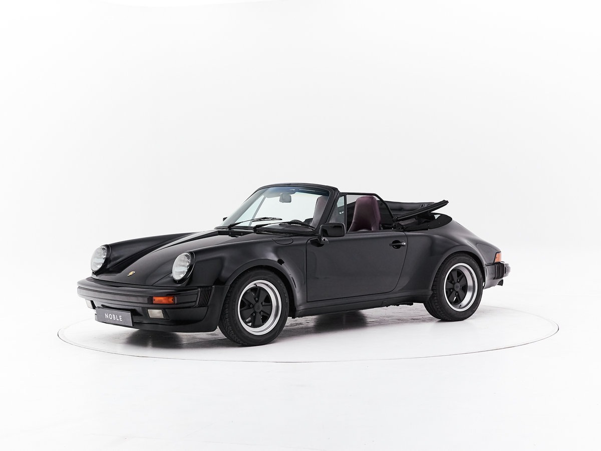 1986 PORSCHE 911 3.2 CABRIOLET For Sale by Auction (picture 1 of 6)