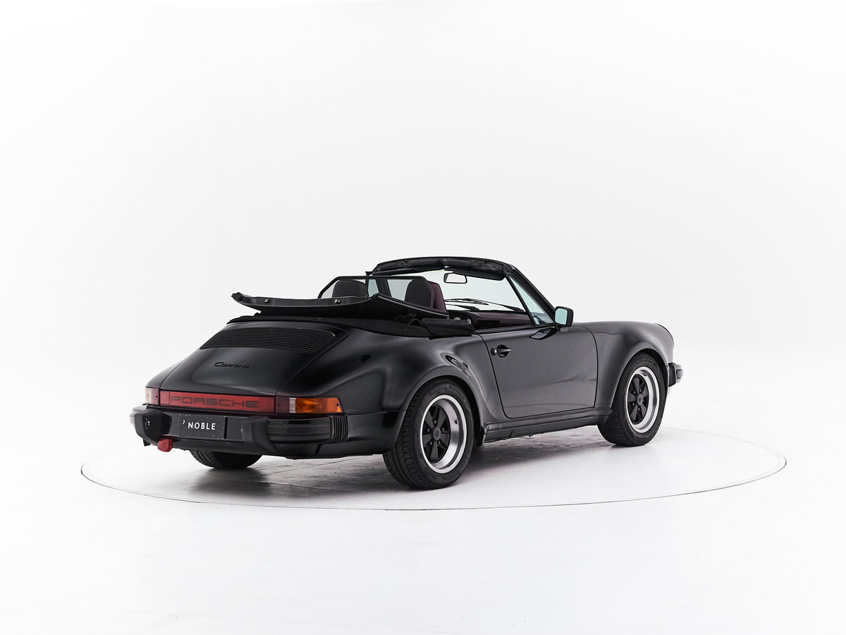1986 PORSCHE 911 3.2 CABRIOLET For Sale by Auction (picture 2 of 6)