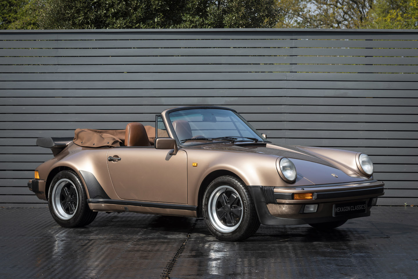 1987 Porsche 911 SSE Cabriolet (G50) Factory Hard Top SOLD (picture 1 of 6)