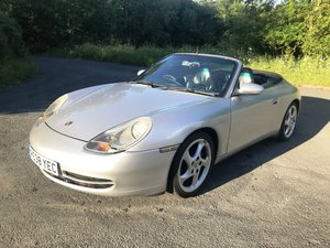 1998 Porsche 996 Carrera 911 Cabriolet For Sale