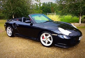 2004 PORSCHE 996 TURBO CABRIOLET TIPTRONIC S - STUNNER - PX For Sale