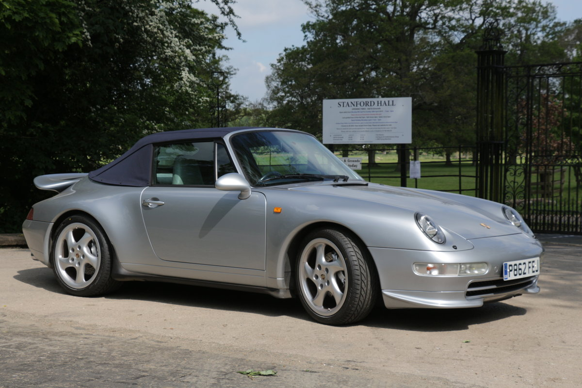 1997 911 (993) C4 Cabriolet-Manual For Sale (picture 1 of 6)