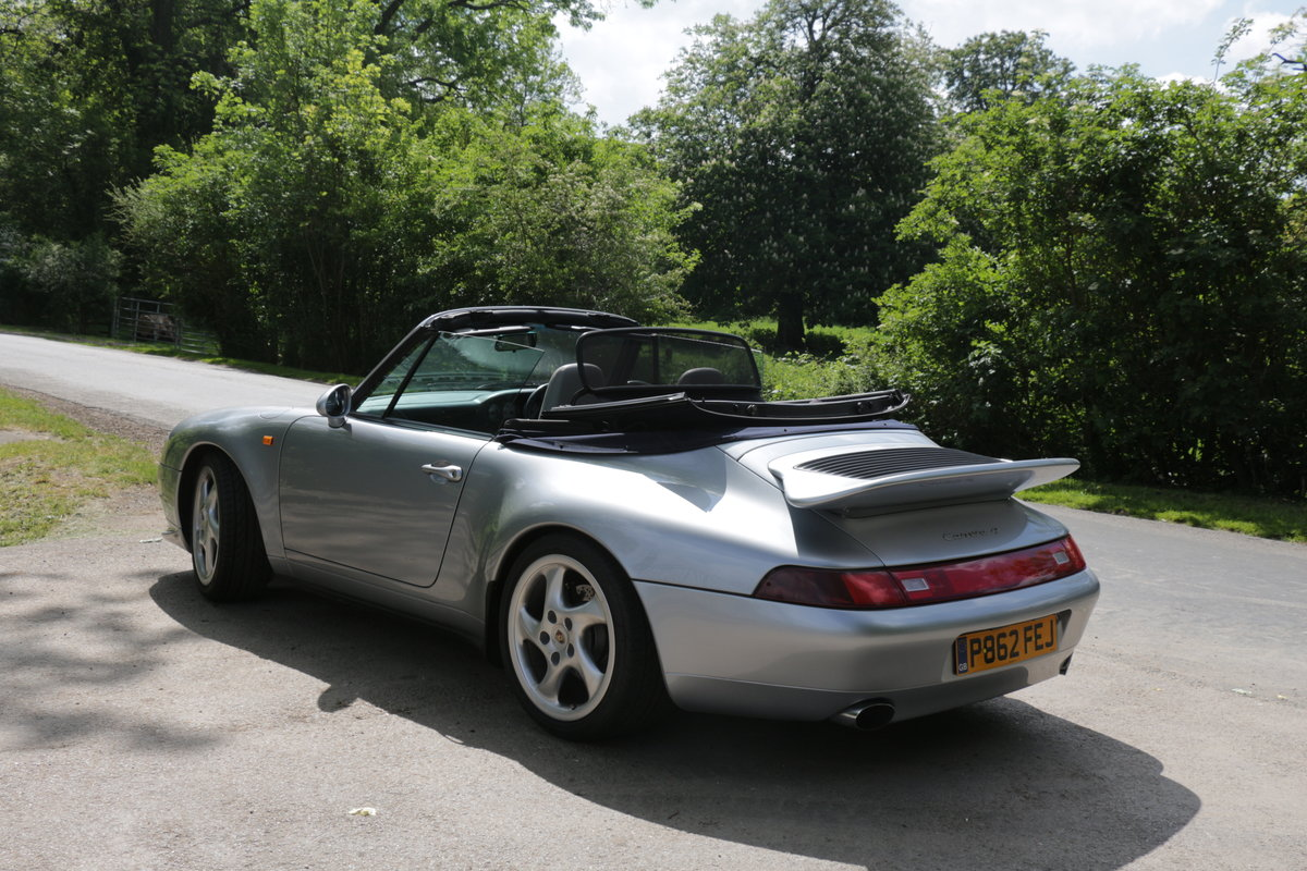 1997 911 (993) C4 Cabriolet-Manual For Sale (picture 2 of 6)