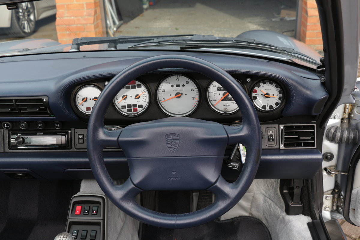 1997 911 (993) C4 Cabriolet-Manual For Sale (picture 5 of 6)