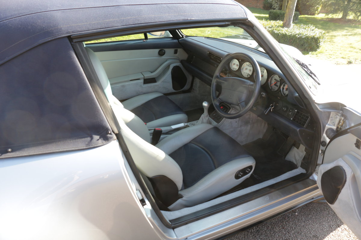 1997 911 (993) C4 Cabriolet-Manual For Sale (picture 6 of 6)