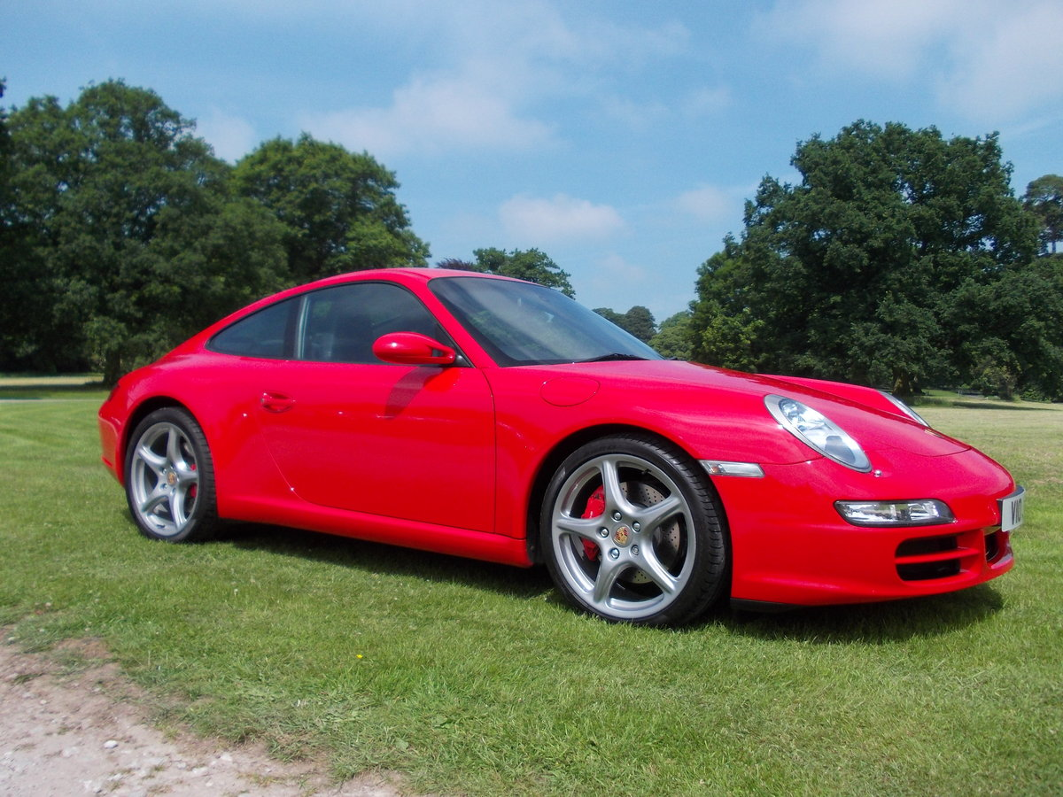 2007 PORSCHE 997 CARRERA 2S .GUARDS RED.SUPERB.£27975 For Sale (picture 1 of 6)
