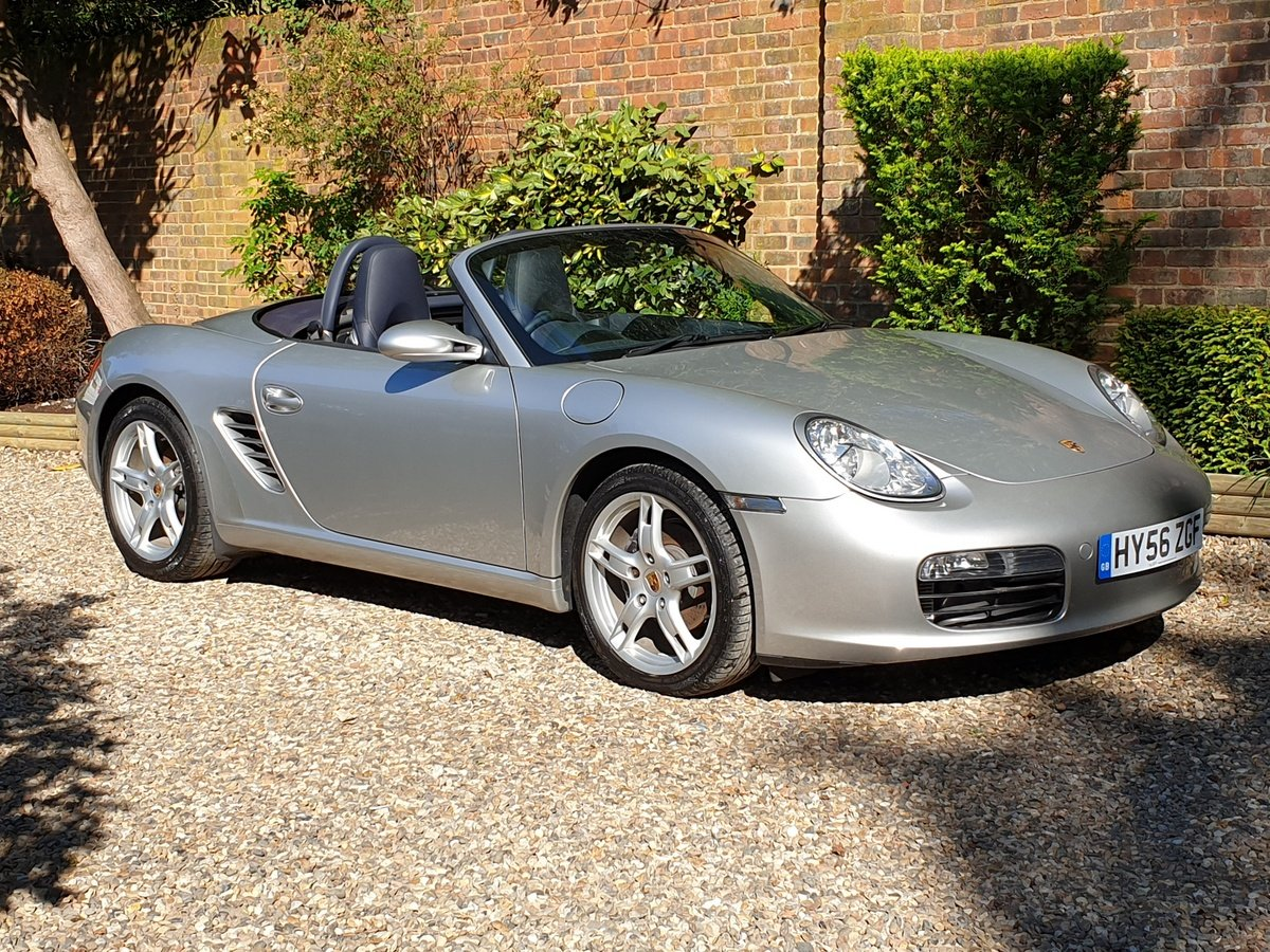 2006 Porsche Boxster 2.7 987 2dr, 1 Owner, Only 5600 miles For Sale (picture 1 of 6)