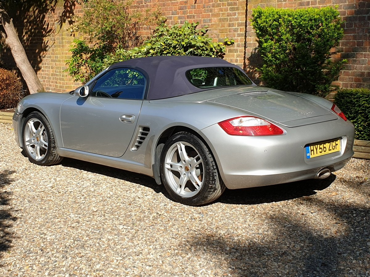 2006 Porsche Boxster 2.7 987 2dr, 1 Owner, Only 5600 miles For Sale (picture 3 of 6)