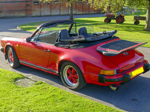 Porsche 911 1988 Cabriolet in Guards Red  For Sale