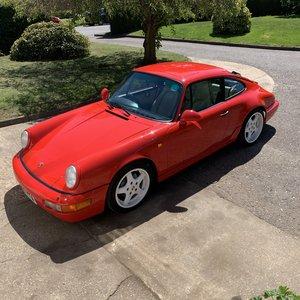 1990 Porsche 911 964 Carrera 4 C4 Coupe Manual For Sale