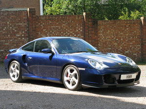 2000- Porsche 996 Turbo Coupe For Sale