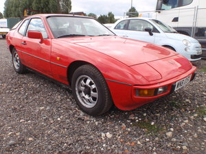 1982 PORSCHE 924 LUX. NEW MOT, RUST FREE ORIGINAL For Sale