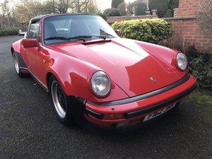 1988 Porsche 911 Turbo Targa = Rare RHD Clean Red  $obo For Sale