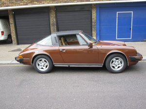 1977 Porsche 911 Targa For Sale by Auction