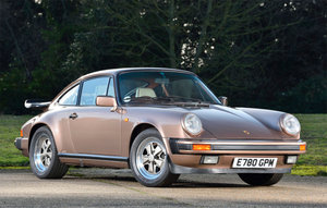 1987 Porsche 911 3.2 Carrera Sport Coupe For Sale by Auction