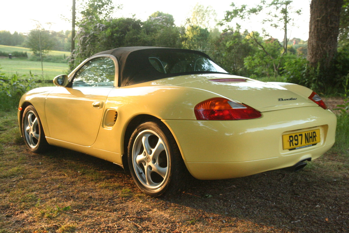 1998 Porsche Boxster 2.5 SOLD (picture 1 of 6)