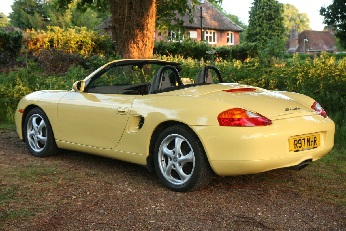 1998 Porsche Boxster 2.5 SOLD (picture 5 of 6)