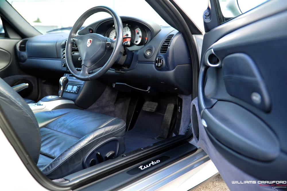 2001 Immaculate Porsche 996 Turbo Tiptronic S coupe For Sale (picture 4 of 6)