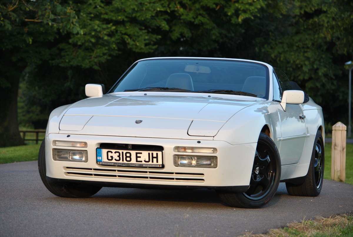 1990 Porsche 944 S2 Cabriolet, 76k miles, FSH HPI clear For Sale (picture 1 of 6)