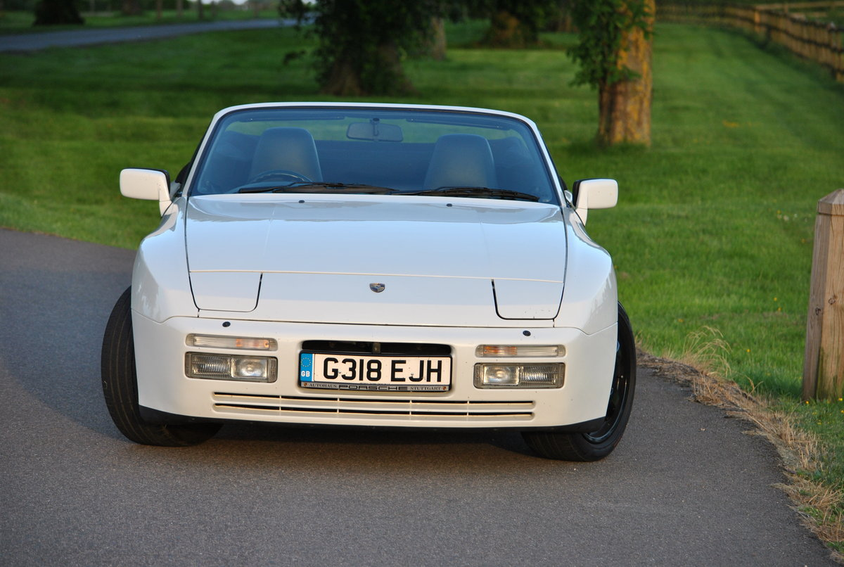 1990 Porsche 944 S2 Cabriolet, 76k miles, FSH HPI clear For Sale (picture 4 of 6)