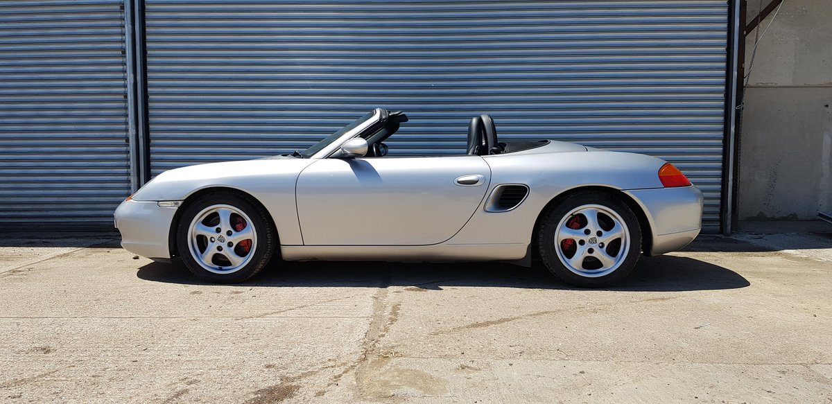 2000 Porsche Boxster S 3.2 manual SOLD (picture 3 of 6)