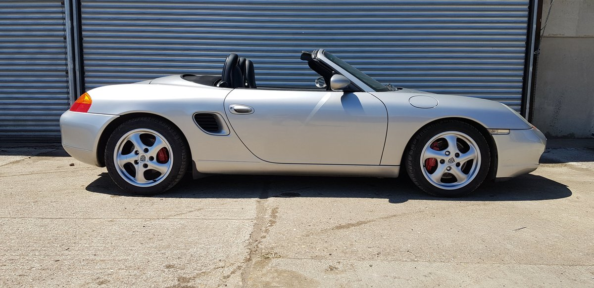 2000 Porsche Boxster S 3.2 manual SOLD (picture 4 of 6)