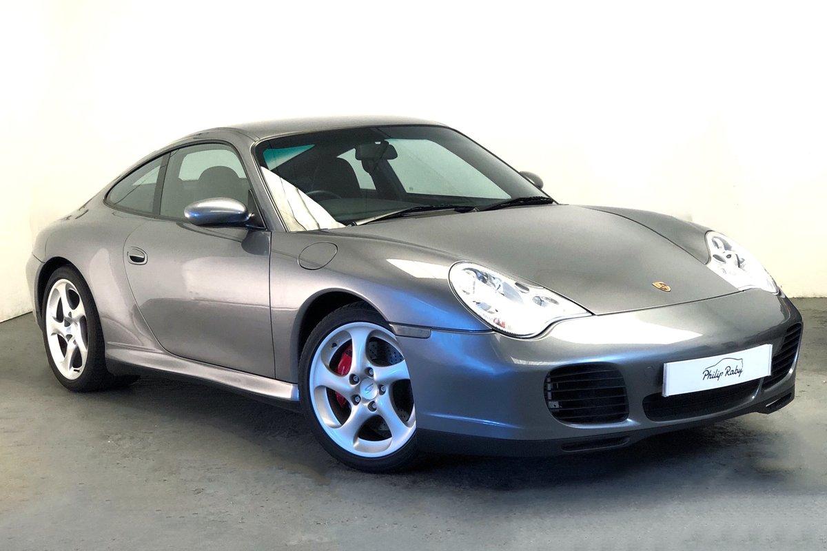 2005 Porsche 996 Carrera 4S, low mileage, main dealer history SOLD (picture 1 of 6)