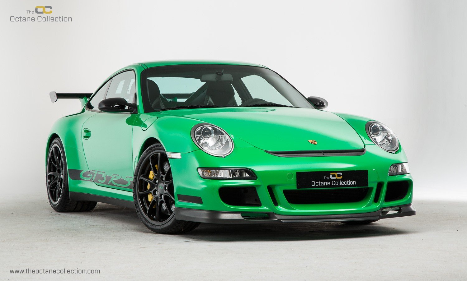 2008 PORSCHE 911 GT3 RS // LHD // VIPER GREEN // ORIGINAL PAINT For Sale (picture 1 of 6)