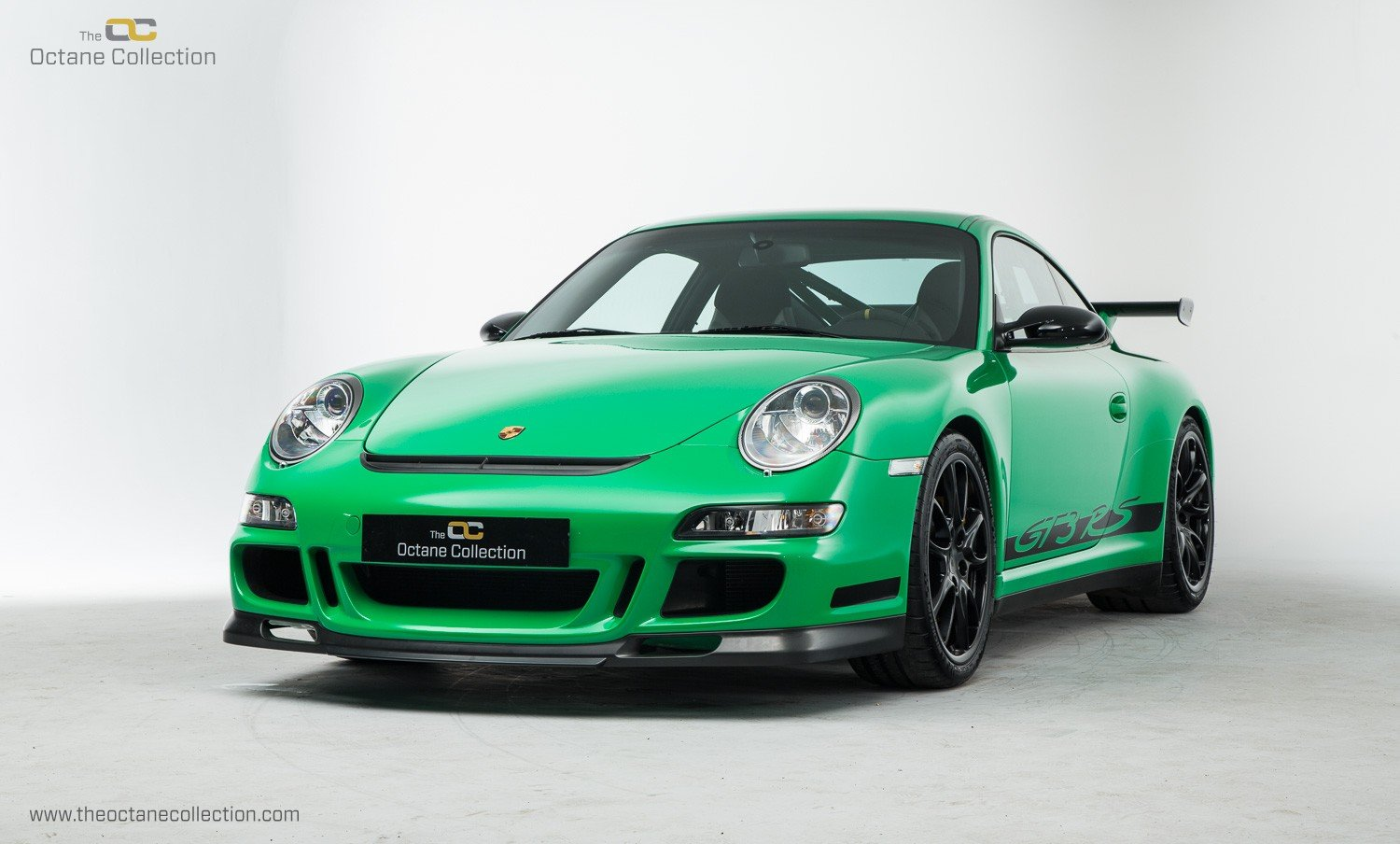 2008 PORSCHE 911 GT3 RS // LHD // VIPER GREEN // ORIGINAL PAINT For Sale (picture 2 of 6)