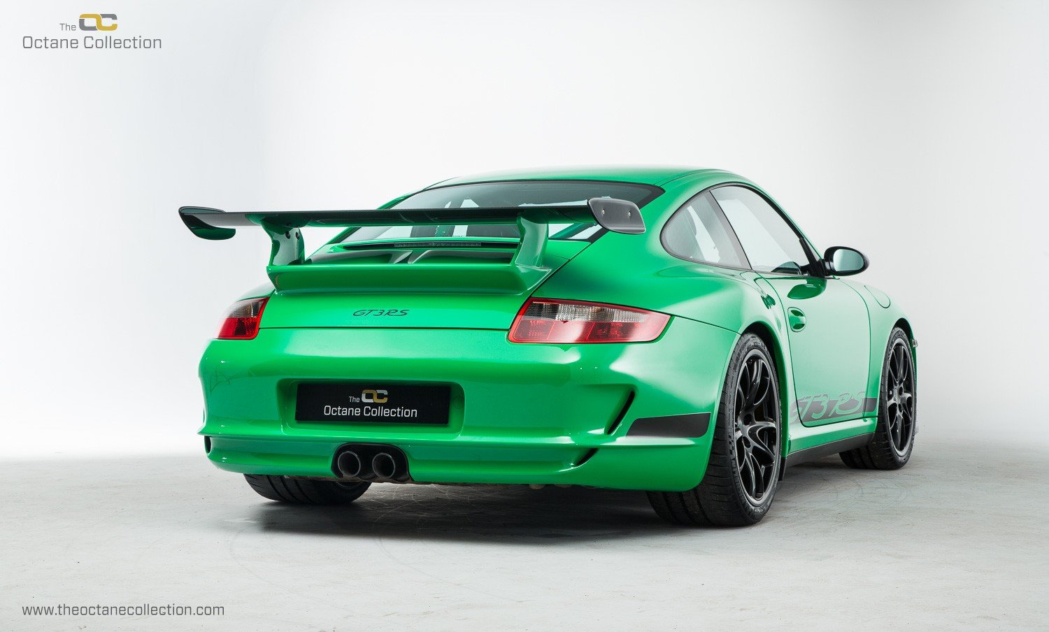 2008 PORSCHE 911 GT3 RS // LHD // VIPER GREEN // ORIGINAL PAINT For Sale (picture 3 of 6)
