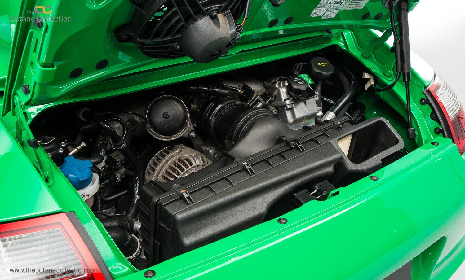 2008 PORSCHE 911 GT3 RS // LHD // VIPER GREEN // ORIGINAL PAINT For Sale (picture 6 of 6)