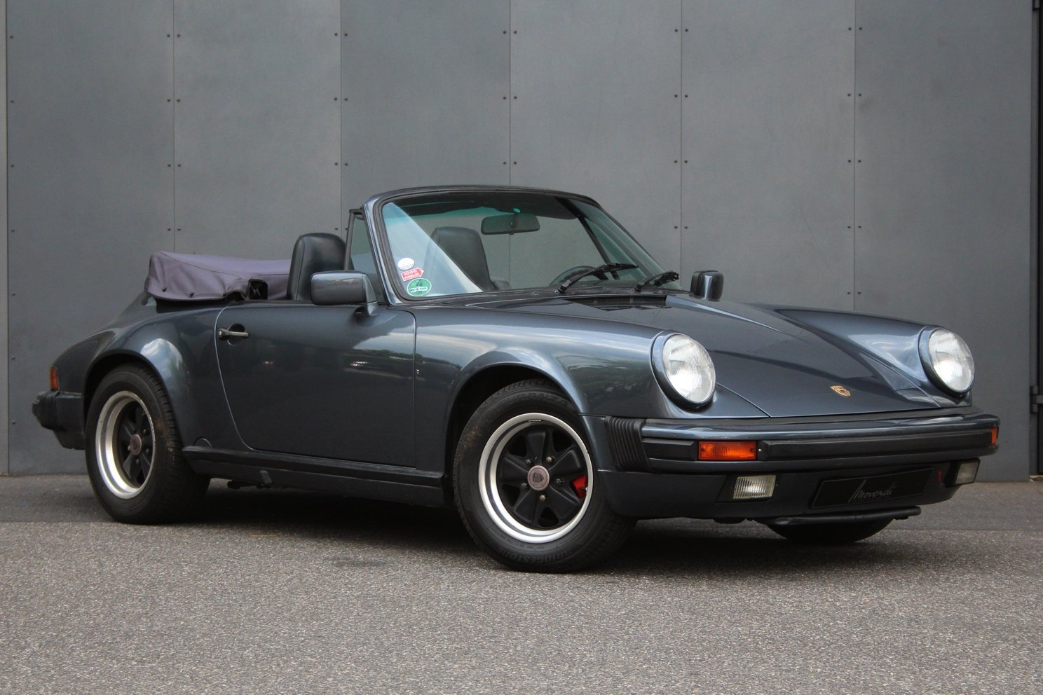 1987 Porsche 911 3.2 Carrera Cabriolet G50 Getriebe LHD For Sale (picture 1 of 6)