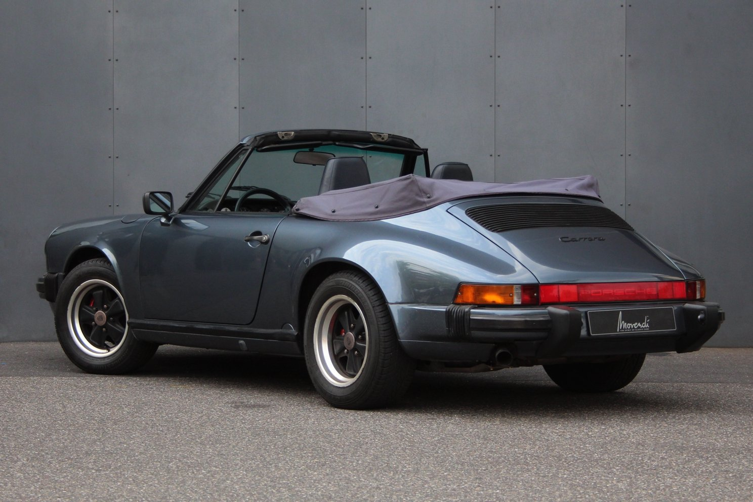1987 Porsche 911 3.2 Carrera Cabriolet G50 Getriebe LHD For Sale (picture 2 of 6)