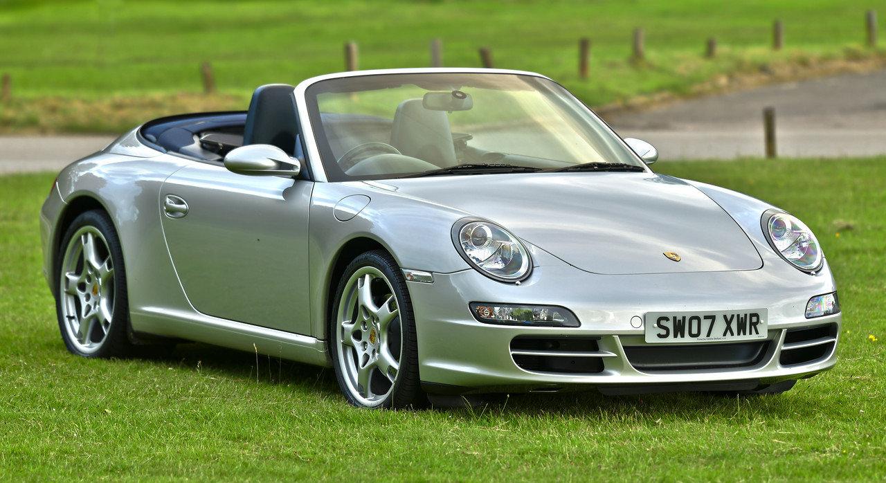 2007 Porsche 911 Carrera Cabriolet 997  3.6 Litre Manual SOLD (picture 1 of 6)