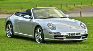 2007 Porsche 911 Carrera Cabriolet 997  3.6 Litre Manual
