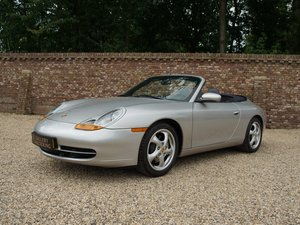 1998 Porsche 911 996 3.4 Carrera Convertible manual 6-speed, only For Sale