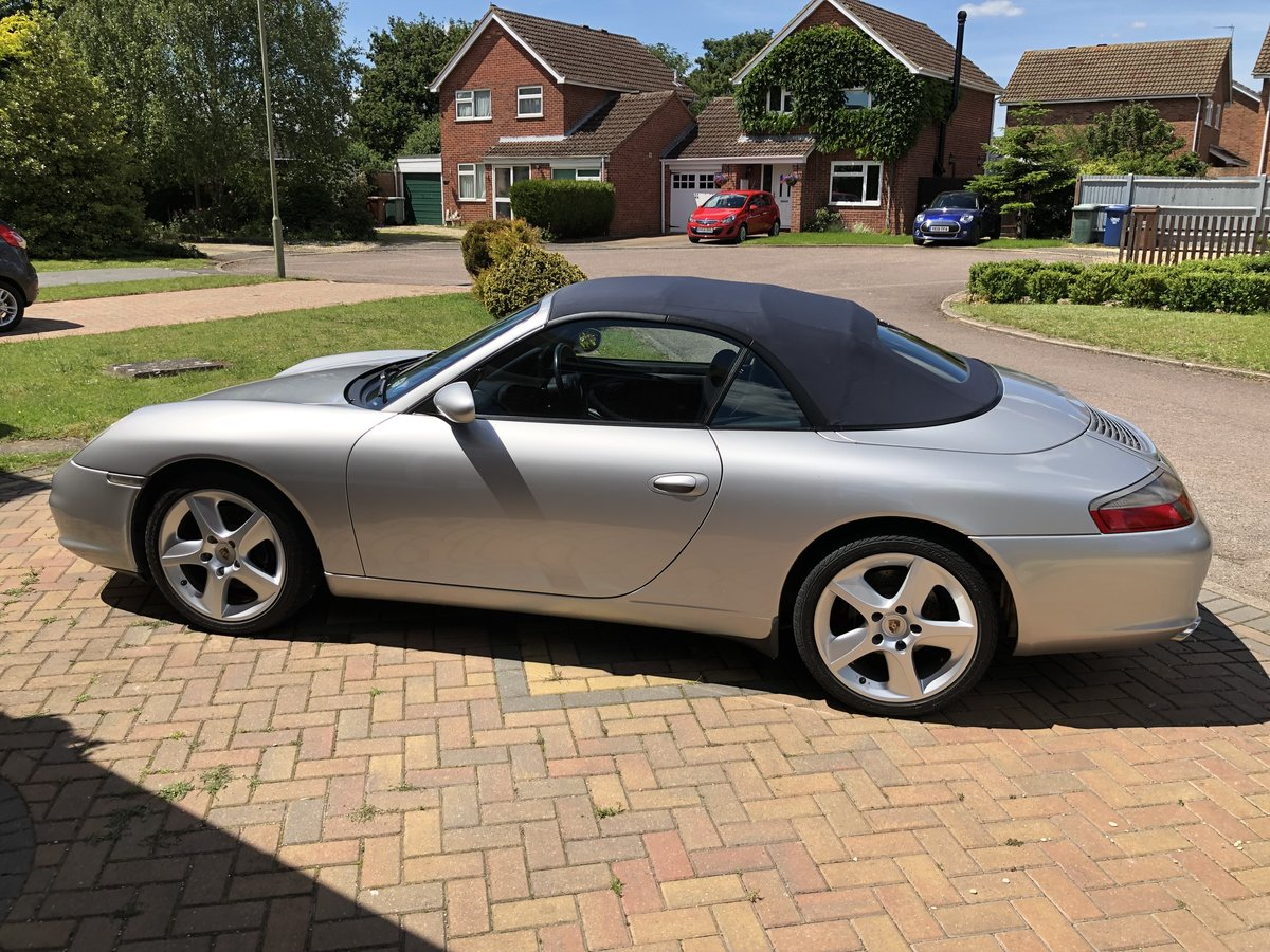 2002 996 C2 Cabriolet - Well presented and cared for  For Sale (picture 1 of 6)